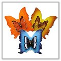 Double Butterfly Floating Candles - Boxed - (Set of 3) bpi-297bp00