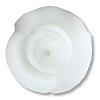 White Rosebud Floating Candles