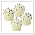 Mini Cupcake Party Candles (Set of 4) tag-bd410032