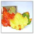 Grape Leaf Floating Candles - Boxed (Set of 3) bpi-985bp00