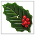 Holly Leaf Floating Candles a-fl-holly
