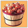 Jack-O-Lantern Candles - 5 Inches e-jacks