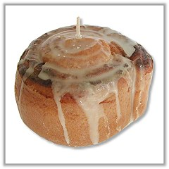 Cinnamon Roll Candle - Crafted Candles