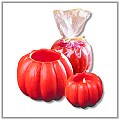 Glowing Pumpkin Candles e-gp
