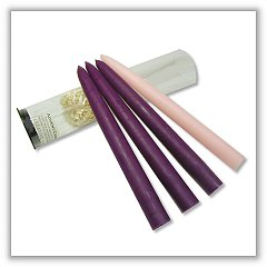Advent Candle Set c-adv