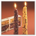 Harvest Corn Taper Candles - 7/8 x 9 x 1½ inches (Set of 2) tag-ta710973