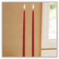 Taper Candles 7/8 x 24 inches (Box of 2) c-ta7824